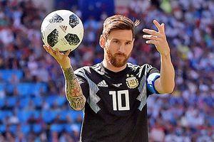 Lionel Messi: 'Tôi có lỗi trong trận hòa Iceland'