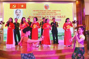 Thành lập Hội Hữu nghị Việt Nam - Campuchia cựu quân tình nguyện Cơ quan Chính trị Bộ tư lệnh 719