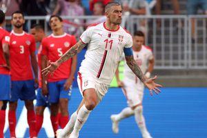 Kolarov sút phạt tuyệt đẹp, Serbia thắng sát nút Costa Rica