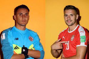 Costa Rica vs Serbia: Đi tìm kỷ lục World Cup