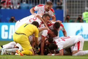 Kết quả trận Costa Rica vs Serbia, World Cup 2018