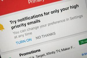 Gmail cũng sử dụng trí tuệ nhân tạo
