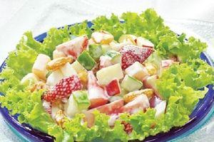 Cách làm salad Nga ngon như ngoài hàng đổi món cho gia đình