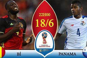 Link xem trực tiếp Bỉ vs Panama, bảng G World Cup 2018