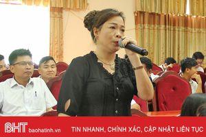 Kiến nghị không giải thể Trường THPT Cù Huy Cận - Vũ Quang