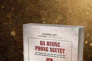 Tranh cãi về cuốn tiểu thuyết 'Hà Hương phong nguyệt'