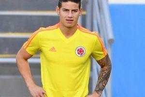 Vì sao James Rodriguez phải ngồi dự bị trận Colombia - Nhật Bản?
