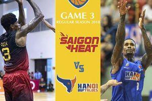 Hanoi Buffaloes vs Saigon Heat: Sức ép 'Chảo lửa' thủ đô