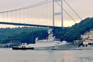 Lộ dàn tàu chiến Nga mang theo tên lửa hành trình Kalibr tới Syria