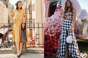 Instagram tuần qua: Các quý cô thời trang đồng loạt lăng xê trang phục họa tiết độc đáo