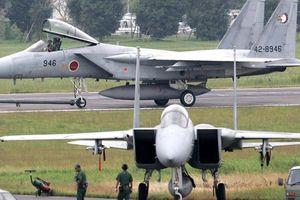 Hai chiếc F-15 suýt va chạm với máy bay chở khách tại Okinawa