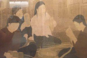 Ngắm Bộ sưu tập của Danh họa Việt Nam vừa tạo kỷ lục mới trên sàn đấu giá quốc tế