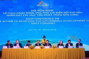 Đại diện 53 thành viên ASEM bàn về ứng phó biến đổi khí hậu