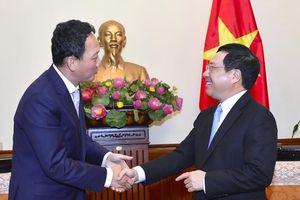 Đại sứ Hàn Quốc nỗ lực hỗ trợ doanh nghiệp vừa và nhỏ Việt Nam