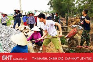 Lộc Hà phấn đấu hoàn thành tiêu chí GTNT vào năm 2020
