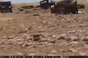 Quân đội Syria dồn dập tung đòn diệt IS, giải phóng sa mạc Sweida