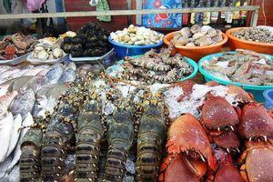 Bắt nhóm bảo kê thu mua hải sản