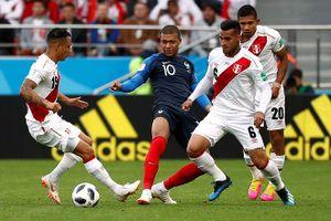 Pháp vào vòng 1/8 World Cup nhờ bàn thắng lịch sử của Mbappe