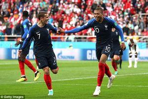 Mbappe ghi bàn đưa Pháp vào vòng 16, Peru kết thúc giấc mơ World Cup sau 36 năm trở lại