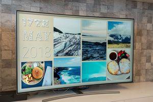 Làm chủ Ambient Mode trên TV Samsung QLED 2018 giúp TV hòa vào không gian nhà bạn