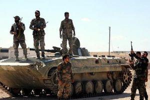 Quân đội Syria 'hất cẳng' IS khỏi nhiều khu vực ở Sweida