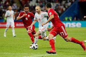 Kết quả trận Iran vs Tây Ban Nha, World Cup 2018