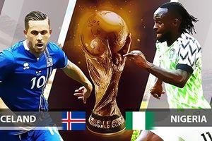 Phân tích kèo Iceland - Nigeria (22h, 22.6): E là Messi phải đau lòng