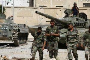 Quân đội Syria xẻ đôi IS ở Đông al-Suwayda để tận diệt