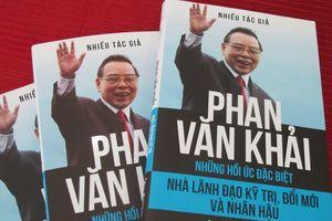 Ra mắt cuốn sách 'Phan Văn Khải - Nhà lãnh đạo kỹ trị, đổi mới và nhân hậu'