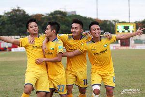 Sông Lam Nghệ An có chiến thắng thứ 3 liên tiếp tại V.League