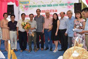Tri ân báo chí và Lễ công bố Quyết định thành lập Trung tâm nghiên cứu bảo tồn phát triển hoa lan Việt Nam