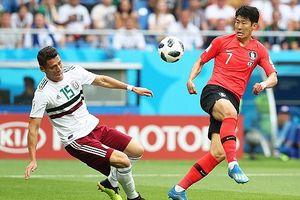 Son Heung-min lập siêu phẩm, Hàn Quốc ngậm ngùi thua 1-2 trước Mexico