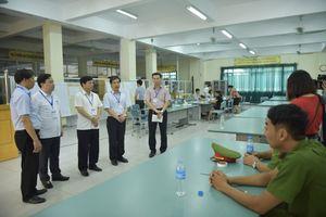 Hà Nội: 15 đoàn kiểm tra việc bảo quản đề và bài thi tại các điểm thi THPT quốc gia