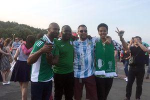 Chưa bao giờ người Argentina yêu Nigeria đến thế