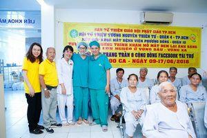 Trang Trần giúp đỡ 200 ca mổ mắt miễn phí cho người nghèo