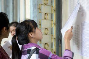 Hơn 98% thí sinh đến làm thủ tục tham dự kỳ thi THPT quốc gia