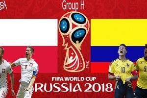Ba Lan vs Colombia: Cuộc chiến không khoan nhượng