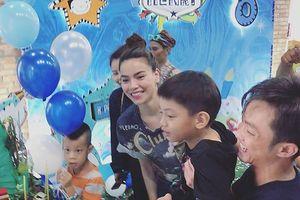 Chuyện showbiz: Cường Đô la - Hà Hồ tái hợp tổ chức sinh nhật cho Subeo