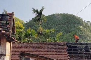 Quảng Ngãi: Lốc xoáy cuốn nhiều tài sản, thiệt hại tiền tỷ