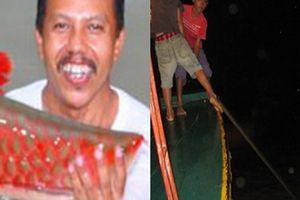 Huyền thoại cá huyết rồng vẩy đỏ như máu nặng hơn nửa tạ ở Biển Hồ