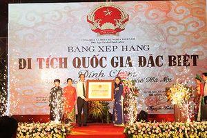 Quận Bắc Từ Liêm đón nhận Bằng xếp hạng di tích lịch sử cấp quốc gia đặc biệt Đình Chèm