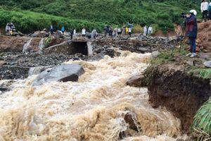 Chưa thể tìm kiếm thêm người mất tích trong mưa lũ ở Lai Châu