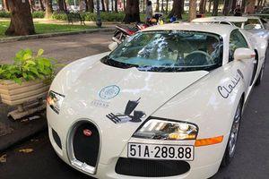 Bugatti Veyron cùng dàn siêu xe tái xuất trên đường phố Sài Gòn