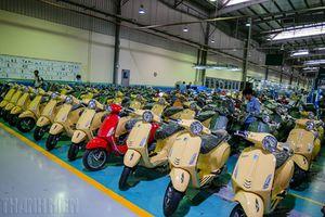 Quá trình tạo nên bộ cánh và trái tim xe Piaggio 'Made in Vietnam'