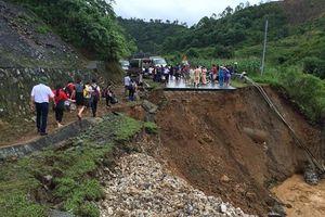 Lai Châu: 17 người chết và mất tích, lượng mưa giảm, nước rút