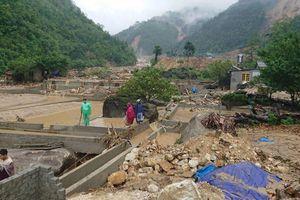 Mưa lũ Lai Châu: Tăng số người chết, mất tích, giao thông tê liệt