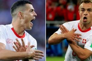 CHÍNH THỨC: FIFA ra phán quyết cuối cùng vụ Xhaka, Shaqiri