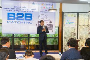 B2B Matching: chuyển giao công nghệ trực tiếp cùng ĐH Hàn Quốc