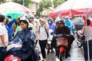 Dự báo thời tiết ngày cuối thi THPT Quốc gia 27/6: Hà Nội rạng sáng có mưa rào nhẹ