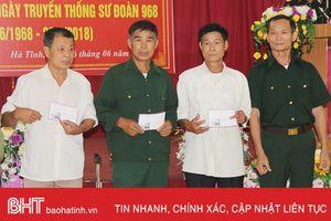 Ấm tình đồng đội 50 năm truyền thống Sư đoàn 968